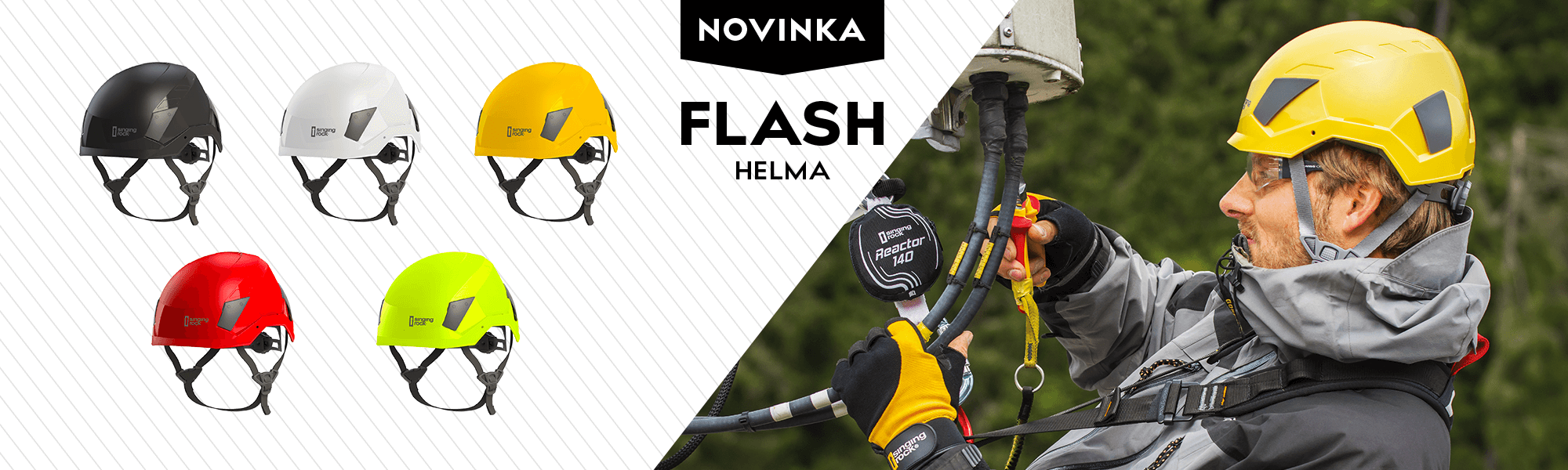 Flash helma