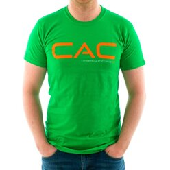 CAC Irish Green with Orange